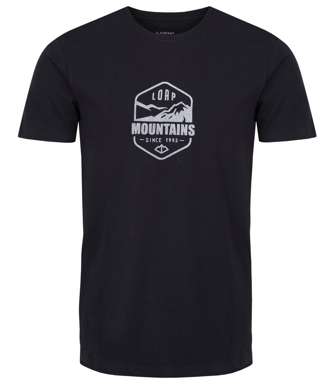 Pánské triko s krátkým rukávem LOAP Amor černá
