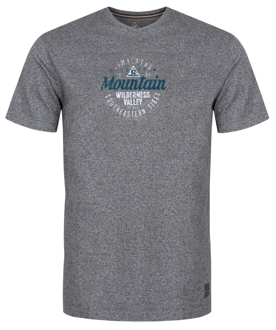 Pánské triko s krátkým rukávem LOAP BADE šedá