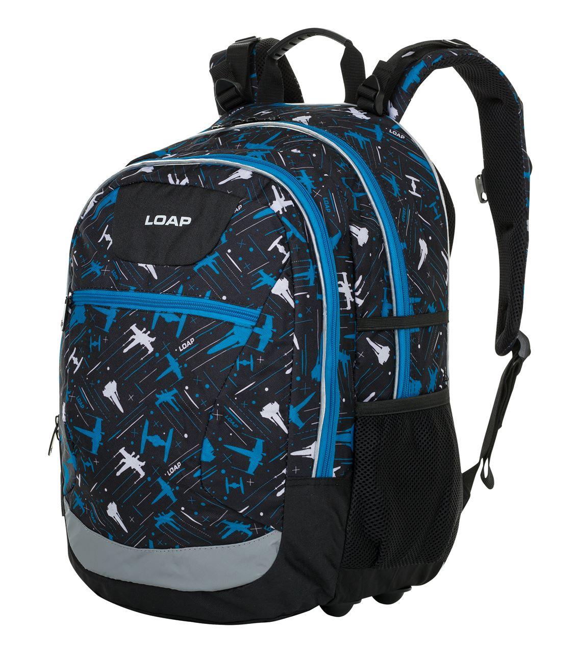 Školní batoh ELLIPSE černá