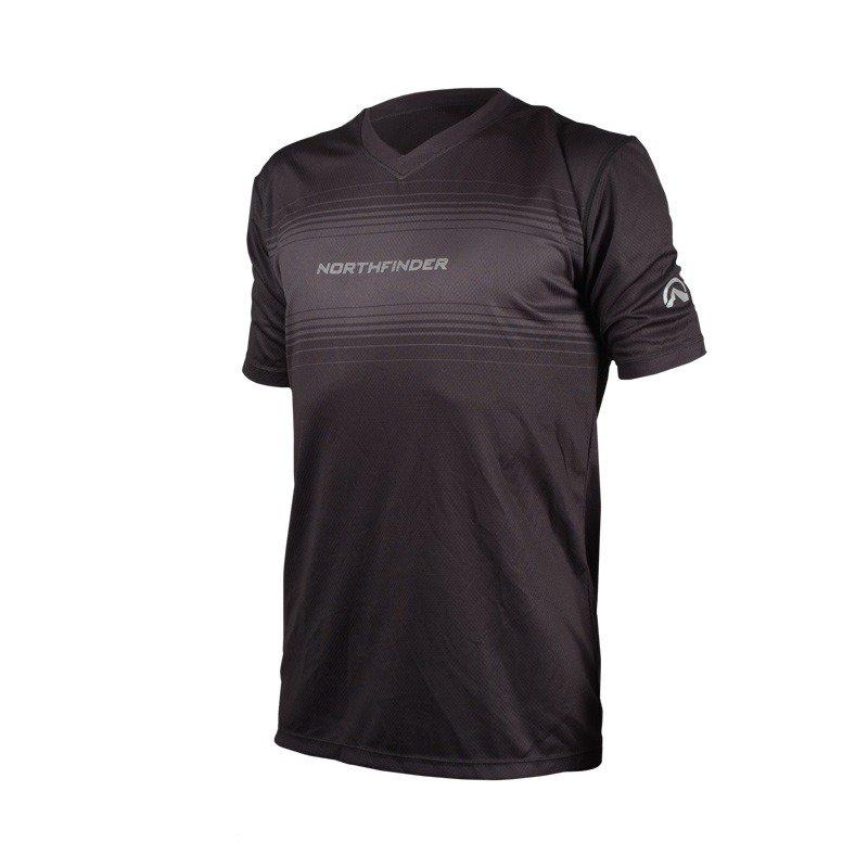 Pánské běžecké triko ROGAR černá