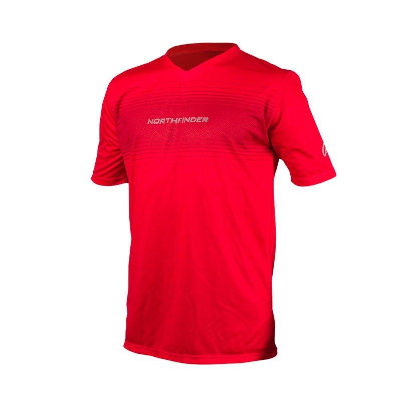 Pánské běžecké triko ROGAR červená