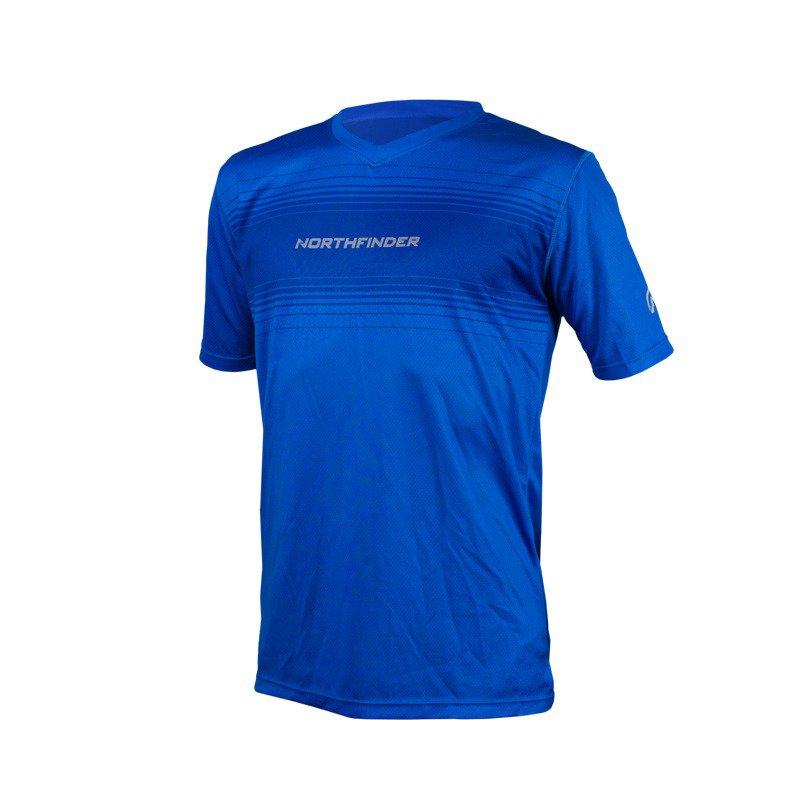 Pánské běžecké triko ROGAR modrá