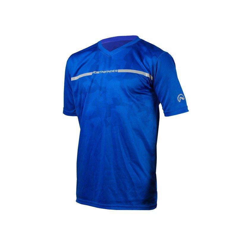 Pánské triko Allowerprint Running OLAF modrá