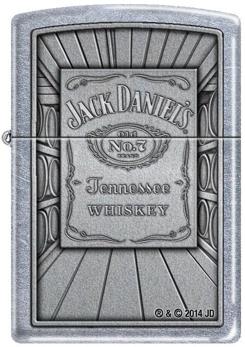 Benzínový zapalovač Zippo Jack Daniel's® 25387 (Benzín Zdarma)