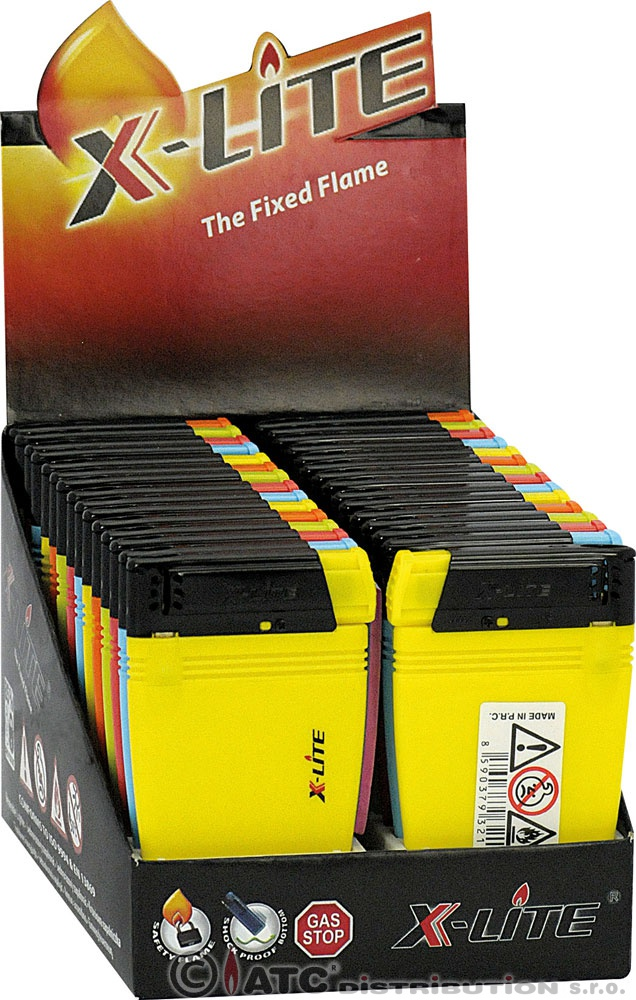 Zapalovač X-LITE CARD 32177