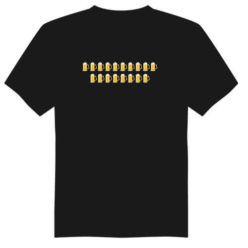 Pánské tričko k 18. narozeninám - půllitry