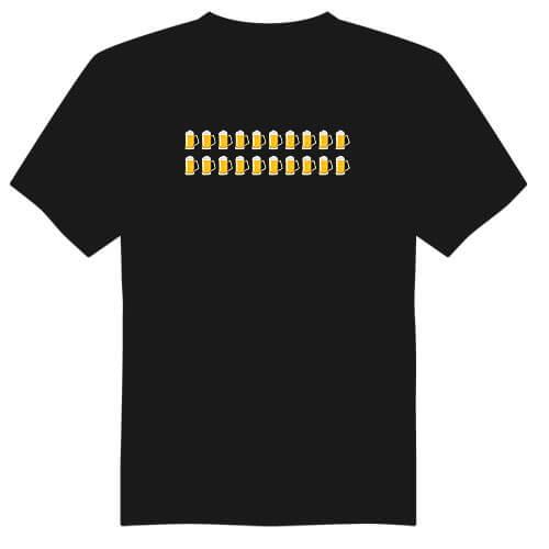 Pánské tričko k 20. narozeninám - půllitry