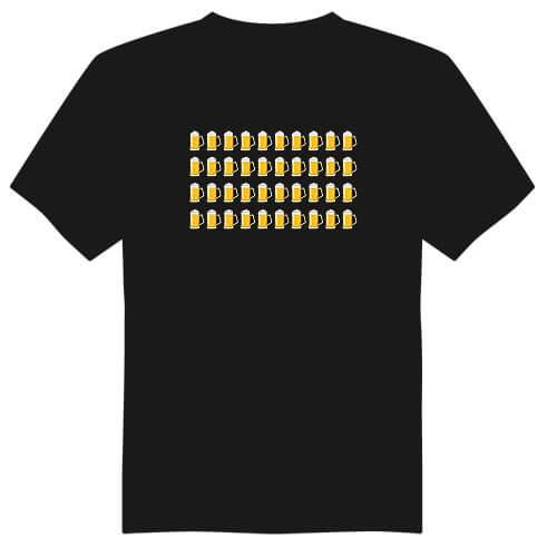 Pánské tričko k 40. narozeninám - půllitry