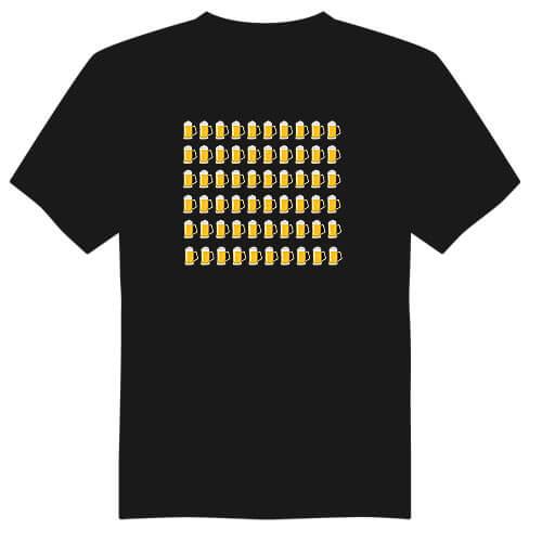 Pánské tričko k 60. narozeninám - půllitry