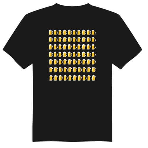 Pánské tričko k 70. narozeninám - půllitry