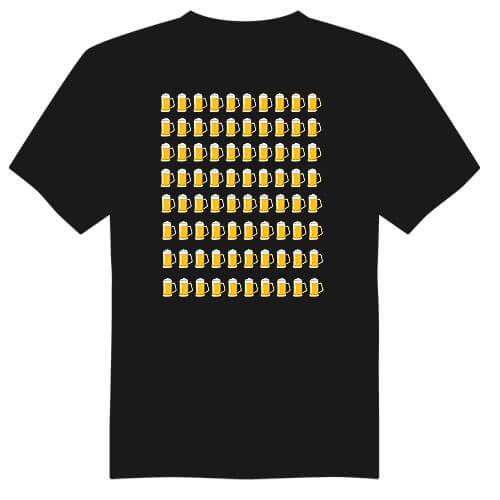 Pánské tričko k 80. narozeninám - půllitry