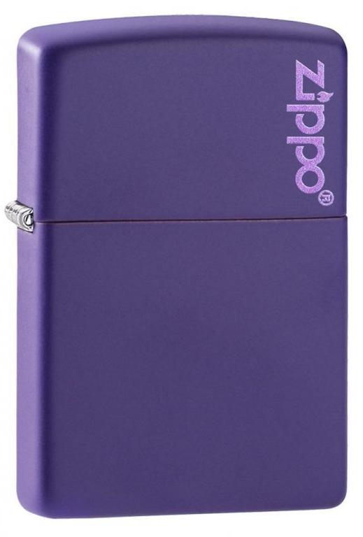 Benzínový zapalovač Zippo Purple Matte Zippo Logo
