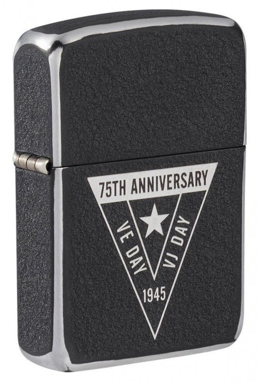 Benzínový zapalovač ZIPPO VE/VJ 75th Anniversary Collectible