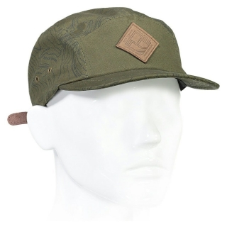 Kšiltovka BEATTIE 5 PANEL olive