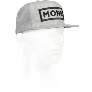 Kšiltovka WOOL CONNOR CAP grey marl
