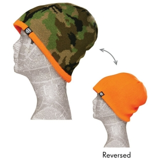 Kulich CAMO REVERSIBLE BEANIE hunter