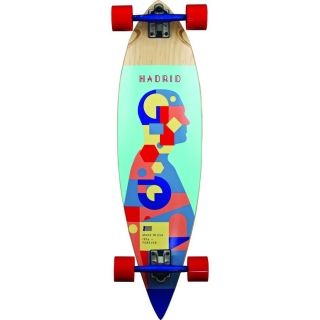 Longboard PINTAIL 36.75 STANDARD PIECHART