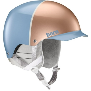 Helma MUSE satin ice blue/ rose gold hatstyle